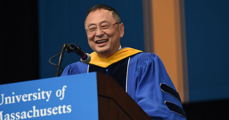 Gerald Chan's Address at UMass Boston's Graduate Commencement: Immigration & Public Higher Education
